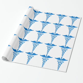 Caduceus Medical Wrapping Paper