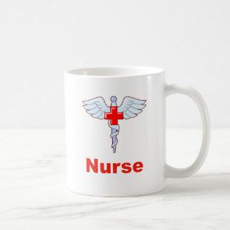 Caduceus Nurse Coffee Mug