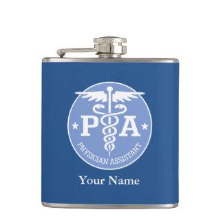 Caduceus PA2 gift ideas Hip Flask