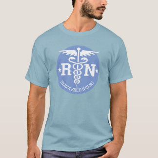 Caduceus RN 3 (blue) T-Shirt