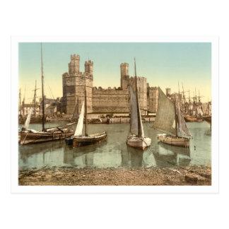 Caernarfon Castle II, Gwynedd, Wales Postcard