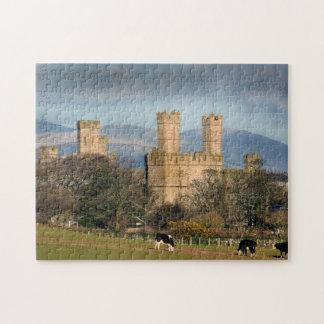 Caernarfon Castle in Wales Jigsaw Puzzle