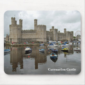Caernarfon Castle Mousepad