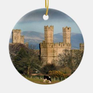 Caernarfon Castle Wales. Ceramic Ornament