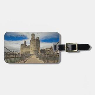 Caernarfon Castle Wales. Luggage Tag