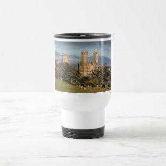 Caernarfon castle Wales Travel Mugs. Travel Mug