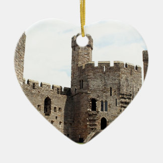 Caernarfon Castle, Wales, United Kingdom Ceramic Ornament