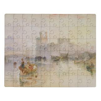 Caernarvon Castle Jigsaw Puzzle