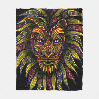 Caesar Color Fleece Blanket
