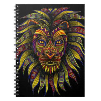 Caesar Color Spiral Notebook