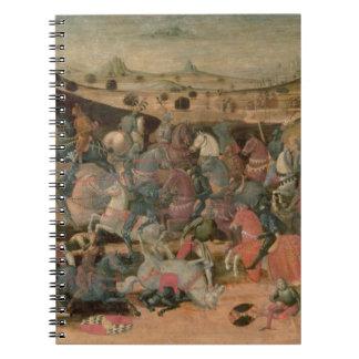 Caesar Triumphing in Battle (tempera on panel) Spiral Note Books