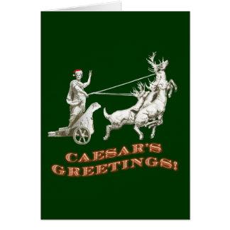 CAESARS Greetings Card
