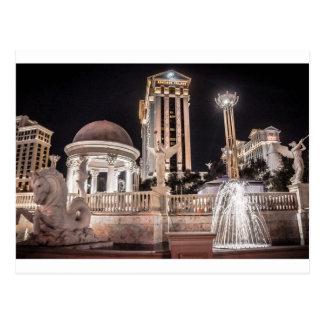 Caesar's Palace Las Vegas Nevada Hotel City Postcard
