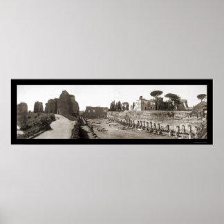 Caesars Palace Rome Photo 1909 Poster