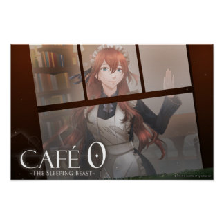CAFE 0 BEAST Poster (Corliss)