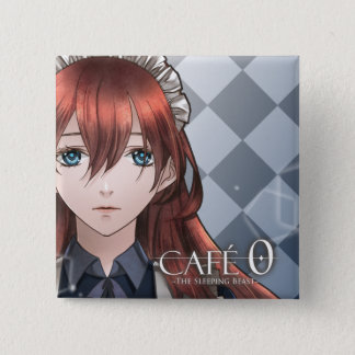 CAFE 0 ~The Sleeping Beast~ Badge (Corliss) 2 Inch Square Button