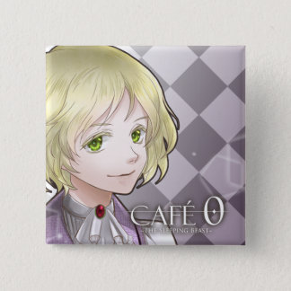 CAFE 0 ~The Sleeping Beast~ Badge (Ethan) 2 Inch Square Button