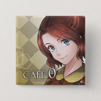 CAFE 0 ~The Sleeping Beast~ Badge (Sophie) 2 Inch Square Button