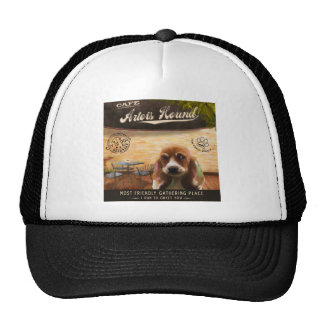 Cafe Artios Hound Trucker Hat