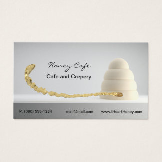 Cafe bakery business card
