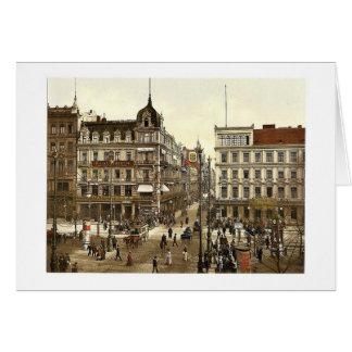 Cafe Bauer, Unter den Linden (Kranzler's Confectio Card