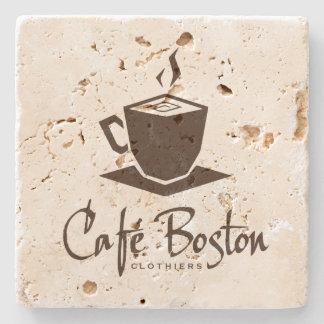 Café Boston Travertine Coaster Stone Coaster
