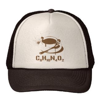 Café C8H10N4O2 Casquette Trucker