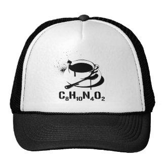 Café C8H10N4O2 Casquettes De Camionneur
