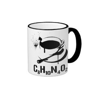 Café C8H10N4O2 Mug Ringer