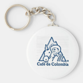 Cafe Colombia Keychain