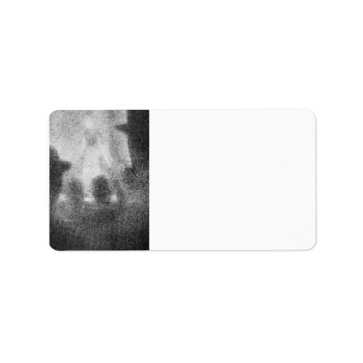 Cafe Concert by Georges Seurat Personalized Address Labels