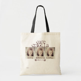 Cafe Criolla Shopping Tote Bags