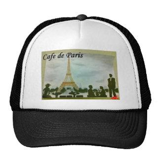 cafe de paris trucker hats