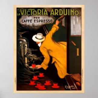 Cafe Express Vintage Poster