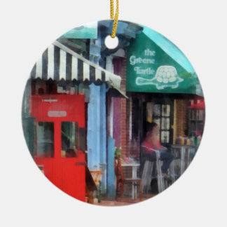Cafe Fells Point MD Ceramic Ornament