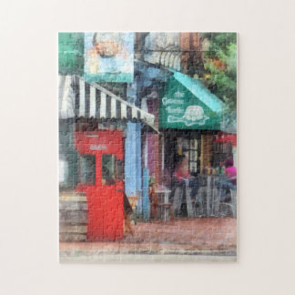 Cafe Fells Point MD Jigsaw Puzzle