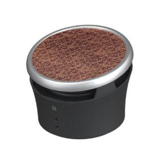 Café floral vintage Brown de feuille de dentelle Haut-parleur Bluetooth