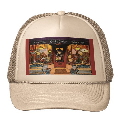 Cafe Gelato Hat