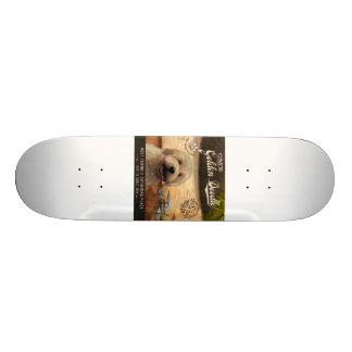Cafe Golden Doodle Skateboard Deck