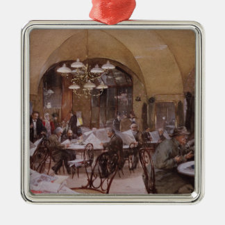 Cafe Griensteidl, Vienna, 1890 Metal Ornament