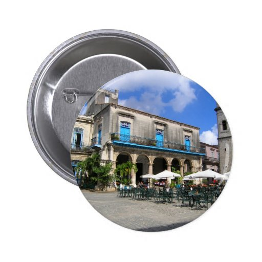 Cafe in Cuba Pins