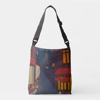 Cafe in Paris Crossbody Bag