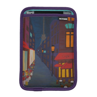 Cafe in Paris iPad Mini Sleeve