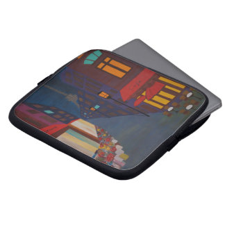 Cafe in Paris Laptop Sleeve
