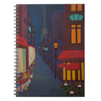 Cafe in Paris Notebook