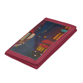 Cafe in Paris Trifold Wallet