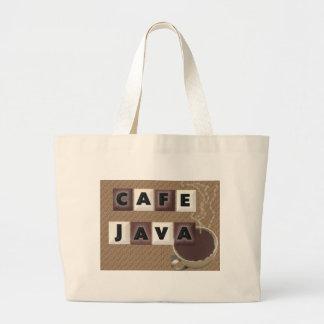 Cafe Java Jumbo Tote Bag