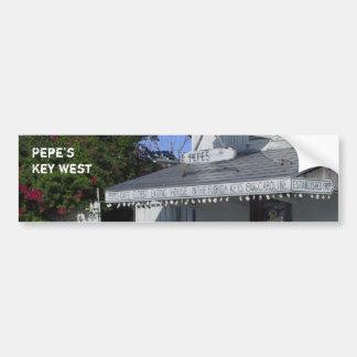 Café Key West de Pepe Autocollant De Voiture