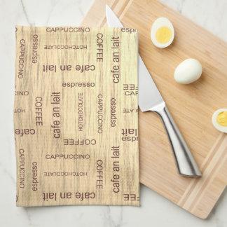 Cafe Kitchen Towel