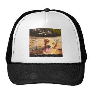 Cafe Labrador Trucker Hat